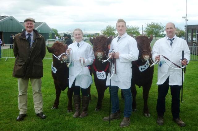 Judge Terence Pye with Beeston Hall Farms Group