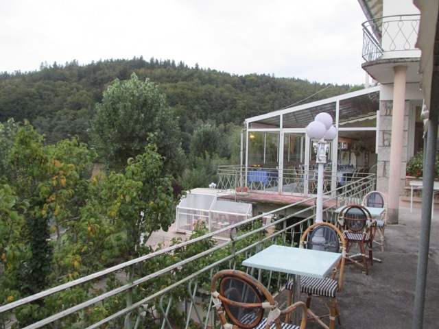 Hotel Garabit overlooking the Garabit Reservoir