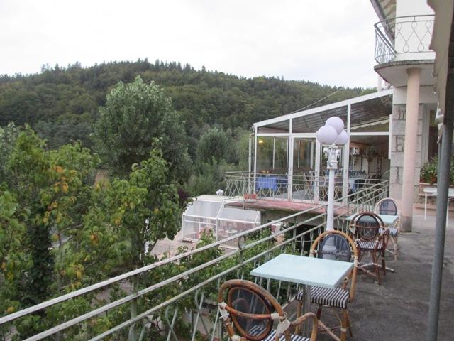 Hotel Garabit overlooking the Garabit Reservoir
